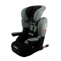 Siège auto imax isofix luxe gris - groupe 1/2/3