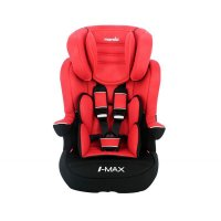 Siège auto imax isofix luxe rouge - groupe 1/2/3