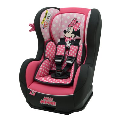 Siège auto cosmo disney luxe minnie mouse - groupe 0+/1 Nania