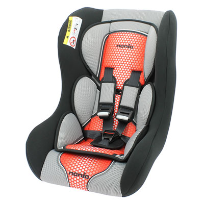 Siège auto trio comfort rouge - groupe 0/1/2 Nania