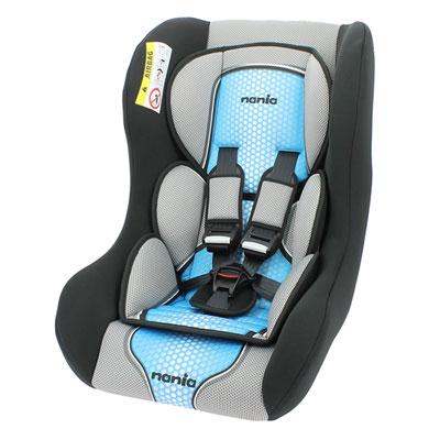 Siège auto trio comfort bleu - groupe 0/1/2 Nania