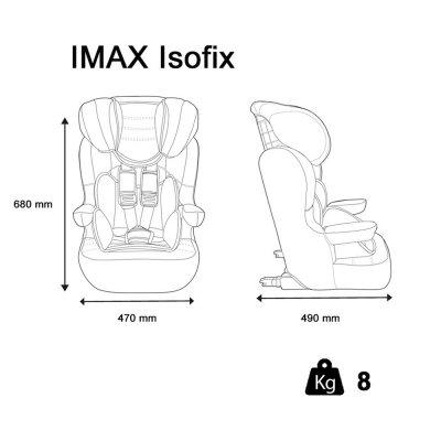 Siège auto imax isofix london - groupe 1/2/3 Nania