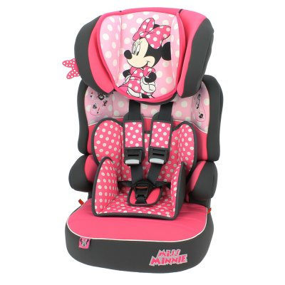 Siège auto beline disney luxe minnie mouse groupe 1/2/3 Nania