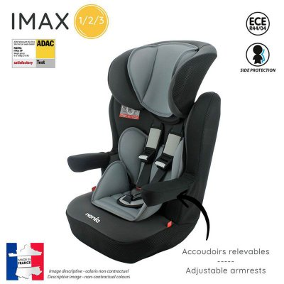 Siège auto imax luxe gris - groupe 1/2/3 Nania