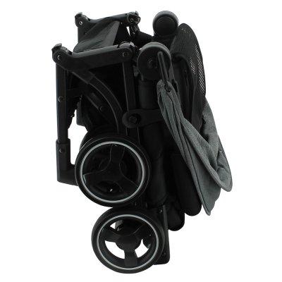 Poussette canne ultra compacte capsul noir Nania