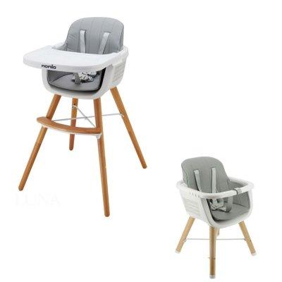 Chaise haute bébé évolutive luna Nania