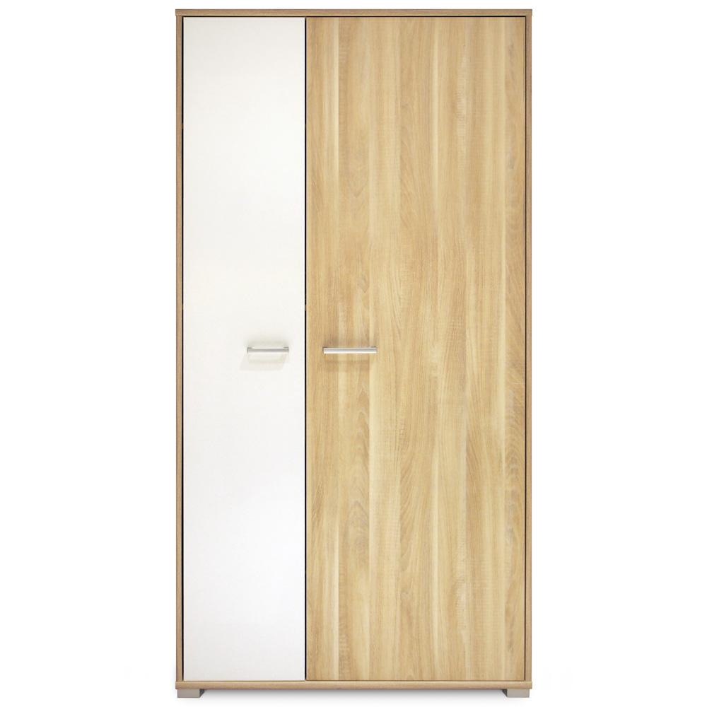 Chambre b b trio noname armoire 2 portes de paidi sur - Armoire chambre 2 portes ...