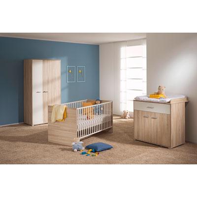 Chambre bébé trio noname armoire 2 portes Paidi