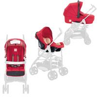 Accessoire system zippy rouge (nacelle + coque + hamac + kit auto)
