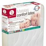 Matelas bébé confort latex 60 x 120 cm pas cher