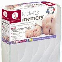 Matelas bébé memory 60x120cm + alèse offert