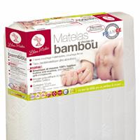 Matelas bébé viscose bambou 70 x 140 cm
