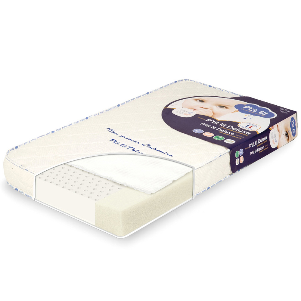 matelas b b mon premier cachemire 60x120cm de p 39 tit lit chez naturab b. Black Bedroom Furniture Sets. Home Design Ideas