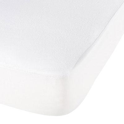 Housse alése bouclette eponge aegis 60 x 120 cm blanc P'tit lit