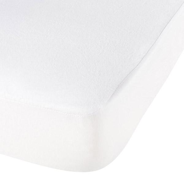 Housse alése bouclette eponge aegis 70x140 cm blanc P'tit lit