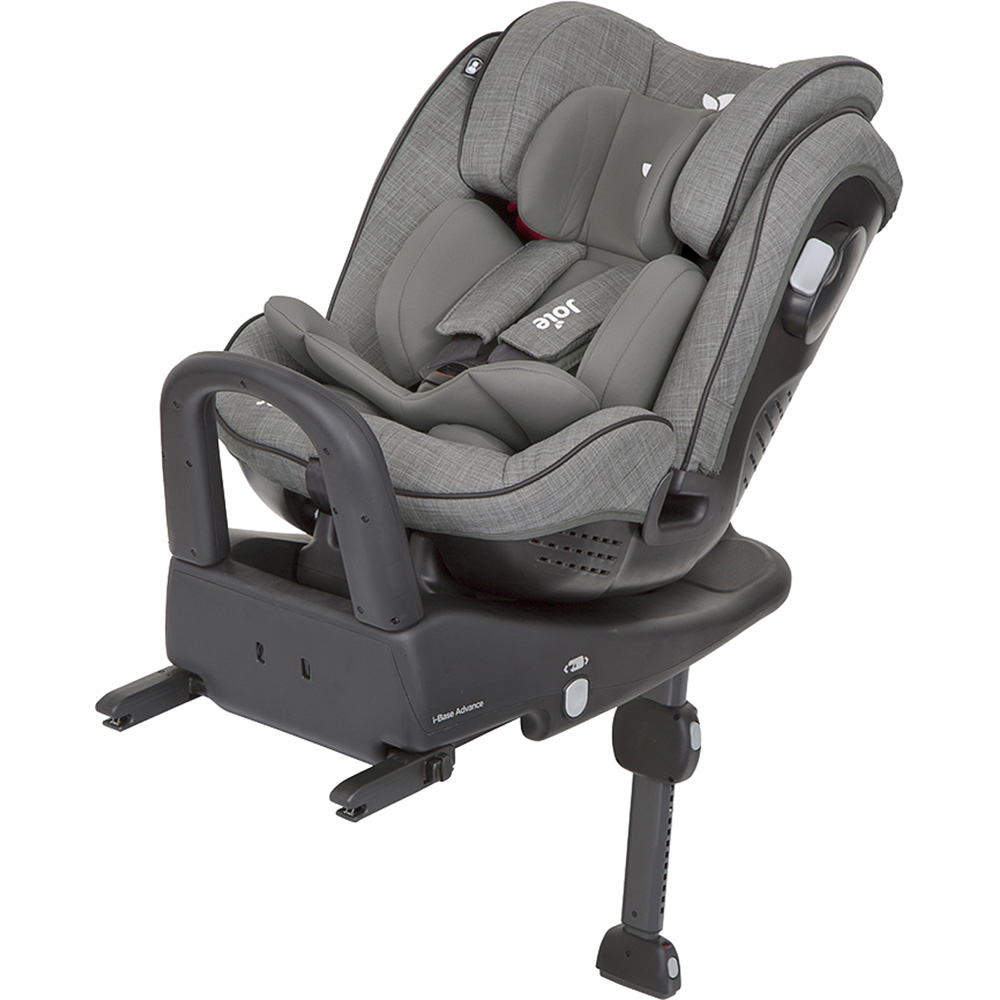 Si ge auto stages isofix foggy grey groupe 0 1 2 de joie for Siege auto 1 an