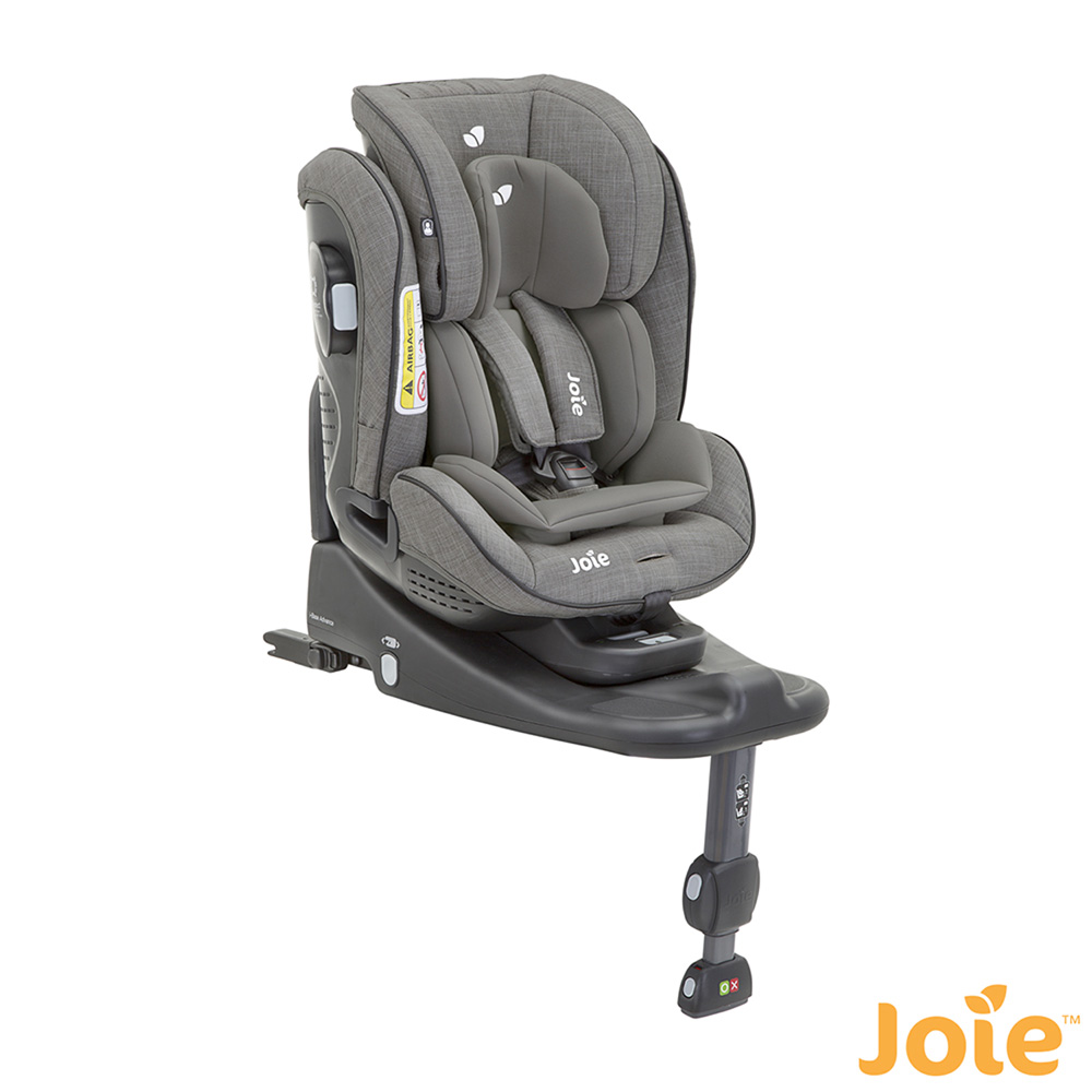 si ge auto stages isofix foggy grey groupe 0 1 2 de joie chez naturab b. Black Bedroom Furniture Sets. Home Design Ideas