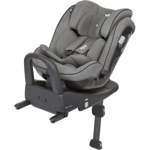 Siège auto stages isofix foggy grey groupe 0+/1/2
