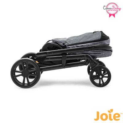 Poussette 4 roues chrome chromium Joie
