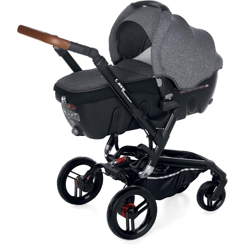 poussette trio rider avec transporter2 et koos i size. Black Bedroom Furniture Sets. Home Design Ideas