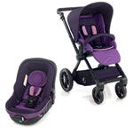 Pack poussette duo muum avec matrix light 2 plum pas cher