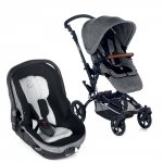 Poussette duo epic avec matrix light 2 squared