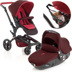 Poussette combiné duo avec matrix light 2 flame + sac filet offert de Jane