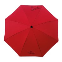 Ombrelle poussette universelle anti-uv red