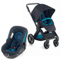 Pack poussette duo muum avec matrix light 2 teal