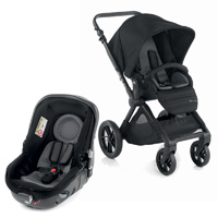 Pack poussette duo muum avec matrix light 2 black