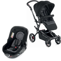 Pack poussette duo epic avec matrix light 2 black