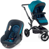 Pack poussette duo trider avec matrix light 2 teal