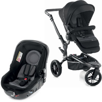 Pack poussette duo trider avec matrix light 2 black