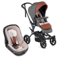Pack poussette duo crosswalk r avec matrix light 2 boho pink
