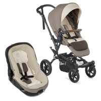 Pack poussette duo crosswalk r avec matrix light 2 bronze