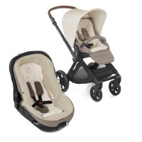 Pack poussette duo muum avec matrix light 2 bronze