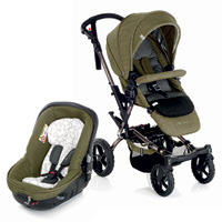 Pack poussette duo crosswalk avec matrix light 2 woods