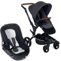 Poussette combiné duo rider avec matrix light 2 jet black