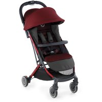 Poussette canne rocket red being