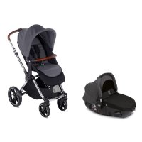 Pack poussette duo kawai avec matrix light 2 jet black