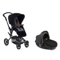 Pack poussette duo epic avec matrix light 2 jet black