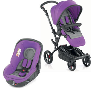 Poussette combiné duo epic avec matrix light 2 blush