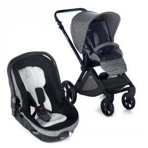Poussette duo muum avec matrix light 2 squared