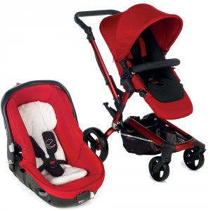Poussette duo rider avec matrix light 2 red