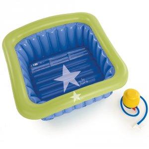 Baignoire bébé gonflable pour espace douche 60x60cm
