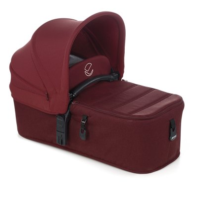 Pack poussette trio muum avec micro et koos i-size red being Jane