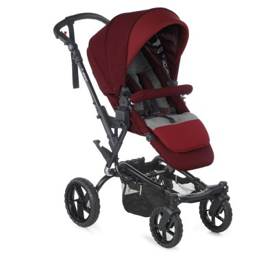 Pack poussette trio crosswalk r avec micro et koos i-size red being Jane