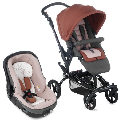Pack poussette duo epic avec matrix light 2 boho pink Jane