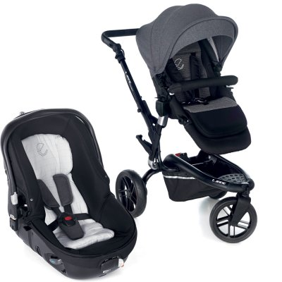 Pack poussette duo trider avec matrix light 2 jet black Jane