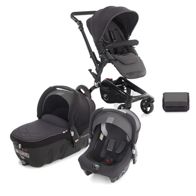 pack poussette trio rider avec transporter et strata cloud. Black Bedroom Furniture Sets. Home Design Ideas